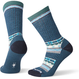 Smartwool Cozy Cabin Crew Socks Women deep marlin